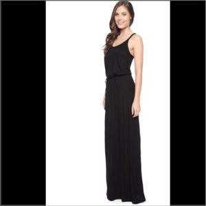 Splendid Midnight Jersey Maxi Dress